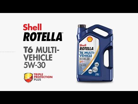 Shell Rotella Engine Oil T6-MV 5W-30