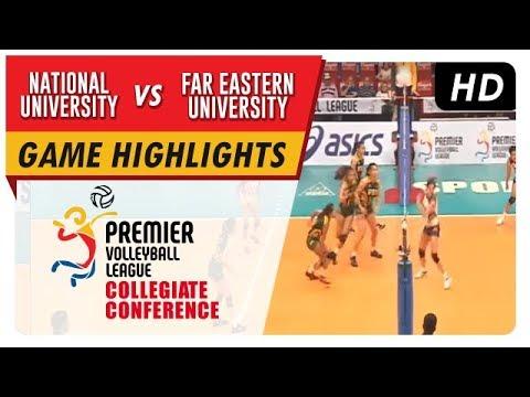 PVL Season 1 Collegiate Conference: NU vs FEU Game Highlights – September 16, 2017