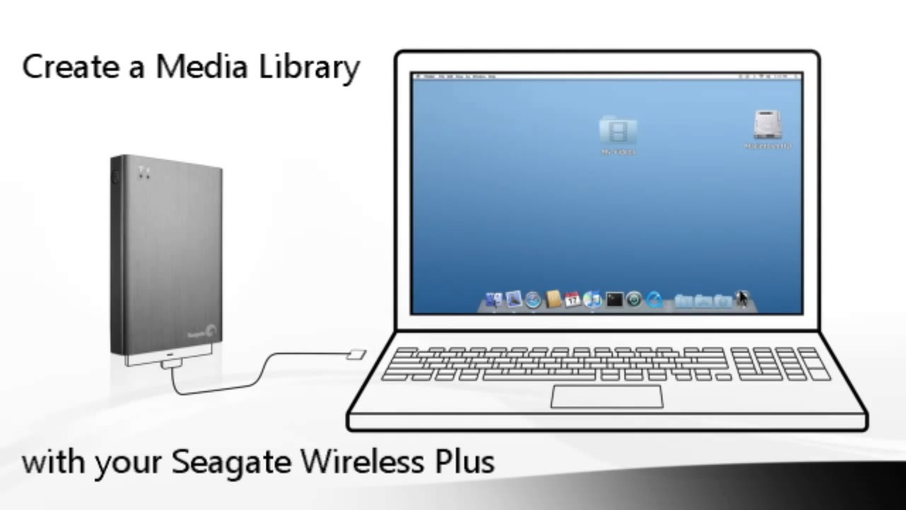 what to do with the seagate wireless plus youtube