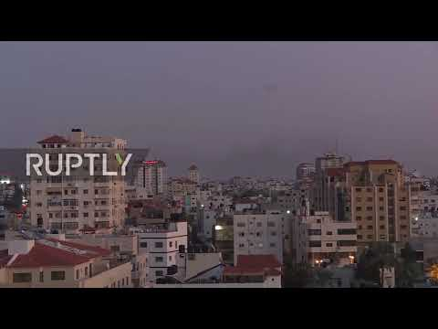 State of Palestine: Iron Dome intercepts rockets launched from Gaza