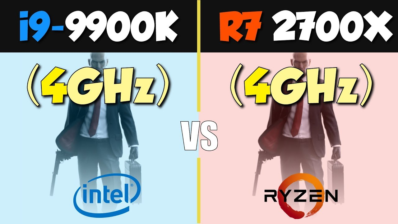 Ryzen 7 2700X vs i9-9900K  A Fair Comparison