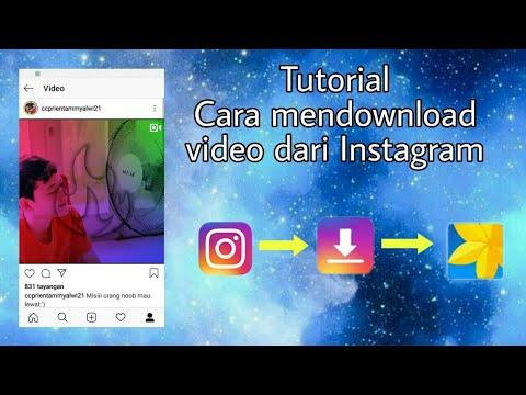 Cara mendownload video dari Instagram/ig - YouTube