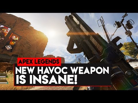 Apex Legends: NEW HAVOC ENERGY WEAPON IS NUTS! Apex Legends New Havoc Energy Weapon!