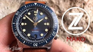 Zelos Mako Review - A new 40mm Diver!