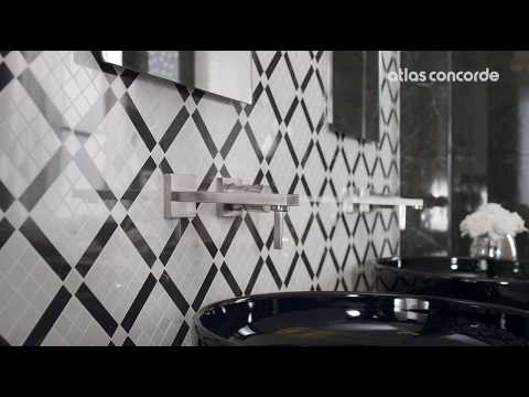 Bathroom | Marble look | Marvel Cream & Noir