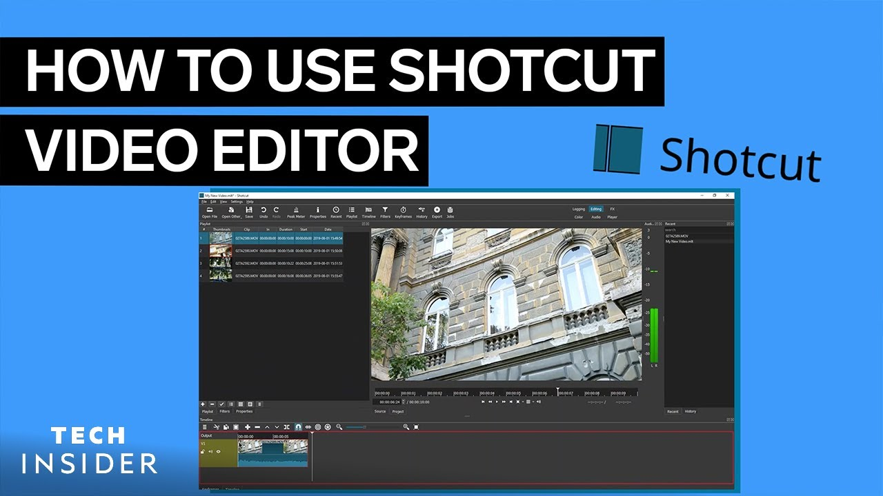 How To Use Shotcut Video Editor
