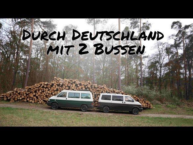 Vom Schwarzwald an die Mosel mit 2 VW BUS CAMPERN   Heimreise Making of #2