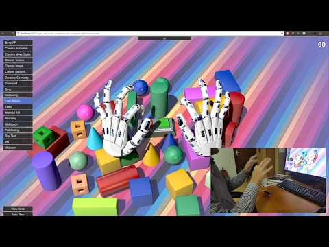 Leap Motion working in Blend4Web