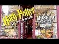 HARRY POTTER SHOP TOUR   MUSEUM CONTEXT   EDINBURGH SCOTLAND