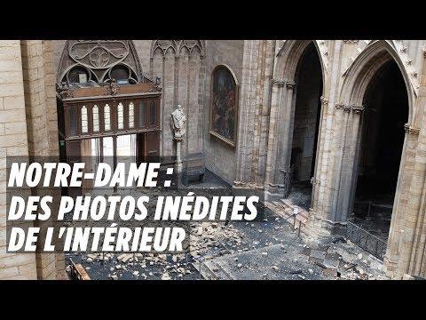 Notre-Dame : Les photos inédites de l\'intérieur de la cathédrale