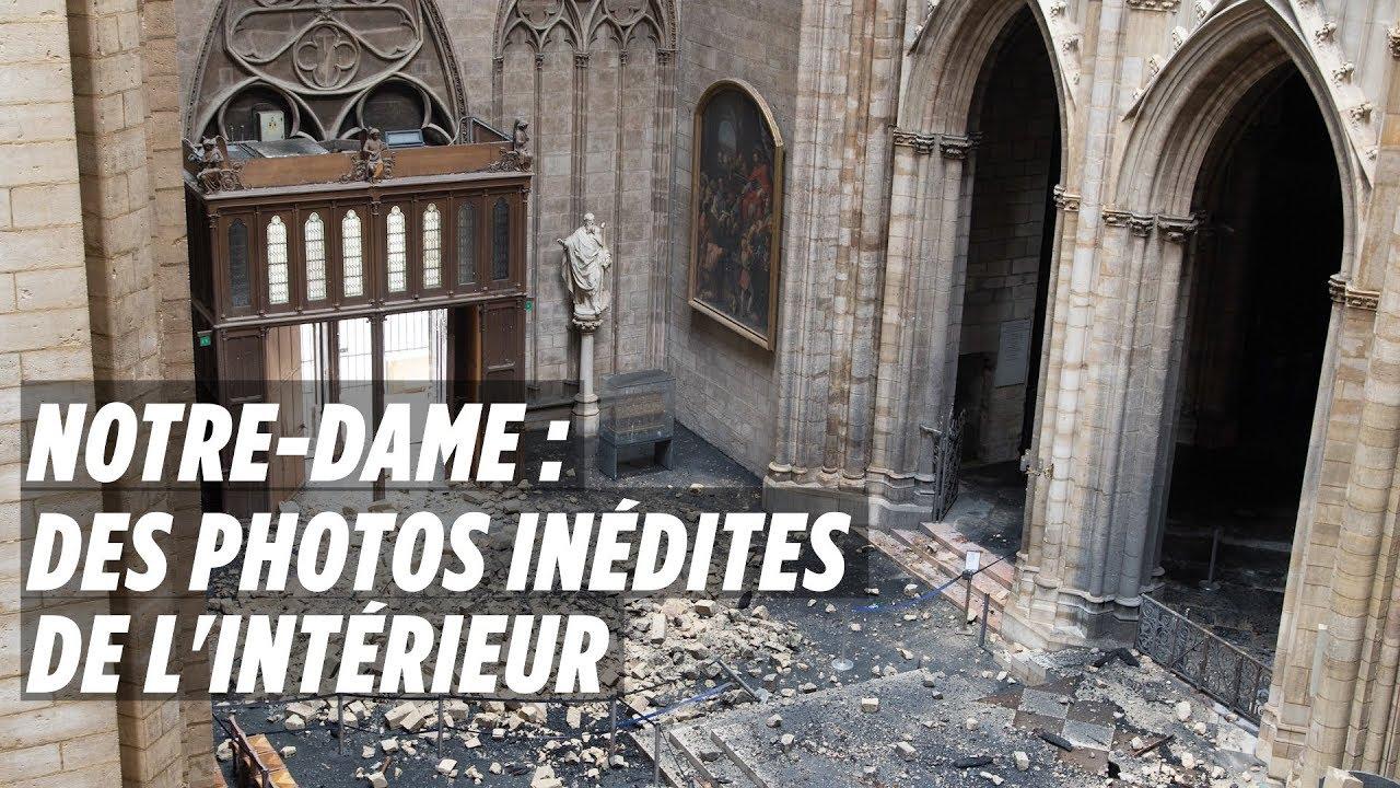 Notre Dame : Les Photos Inédites De Lu0027intérieur De La Cathédrale