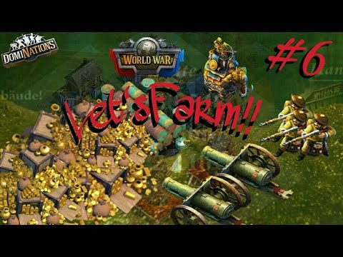 #241. DomiNations #6. Let'sFarm - Current worldwar + Event chat