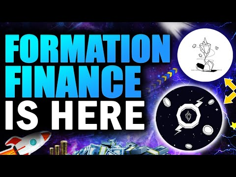 FORMATION FINANCE IS HERE!! ($FORM)  - don't say i never told you.