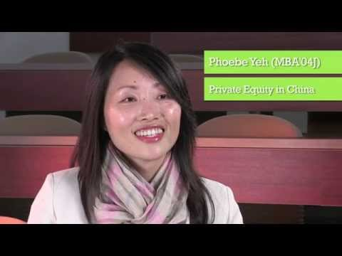 Phoebe Yeh (MBA'04J) on Private Equity in China