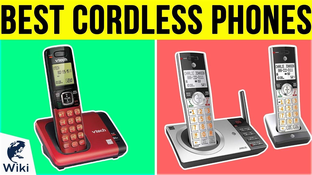 Best Cordless Phones 2020.10 Best Cordless Phones 2019