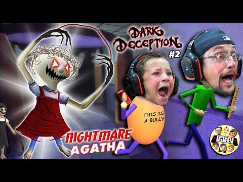 Baldi's Basics NIGHTMARE School Escape House Glitch (FGTEEV Dark Deception #2)
