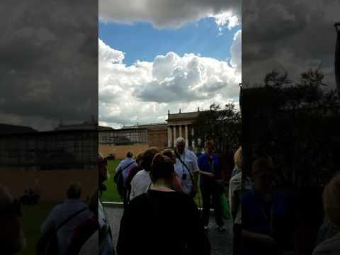 Vatican Belvedere Courtyard