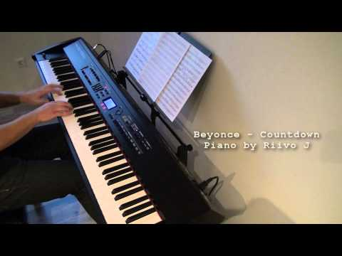 Beyoncé - Countdown (Piano Cover)