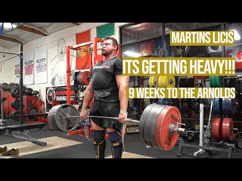 How Many More Sets? - 9 Weeks To The Arnold's