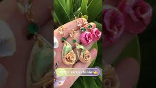 I am in love 😍 with my latest earrings 🥰
