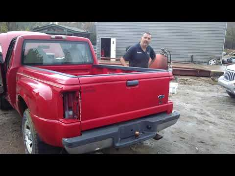 Abandoned Ford Ranger First start in 15 years