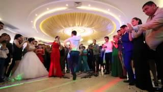 Танец лезгинки невесты с отцом и братом  20.09.2014 г.Пятигорск