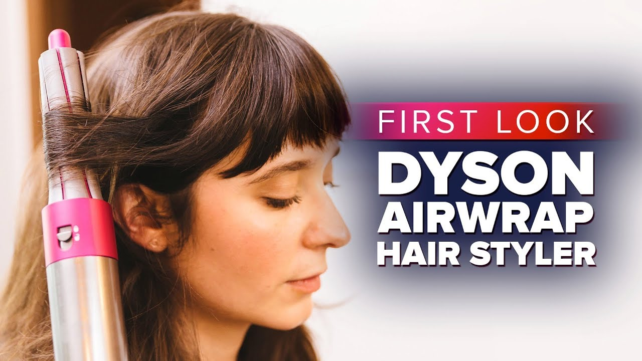 The Dyson Airwrap Hair Styler Hands On Youtube