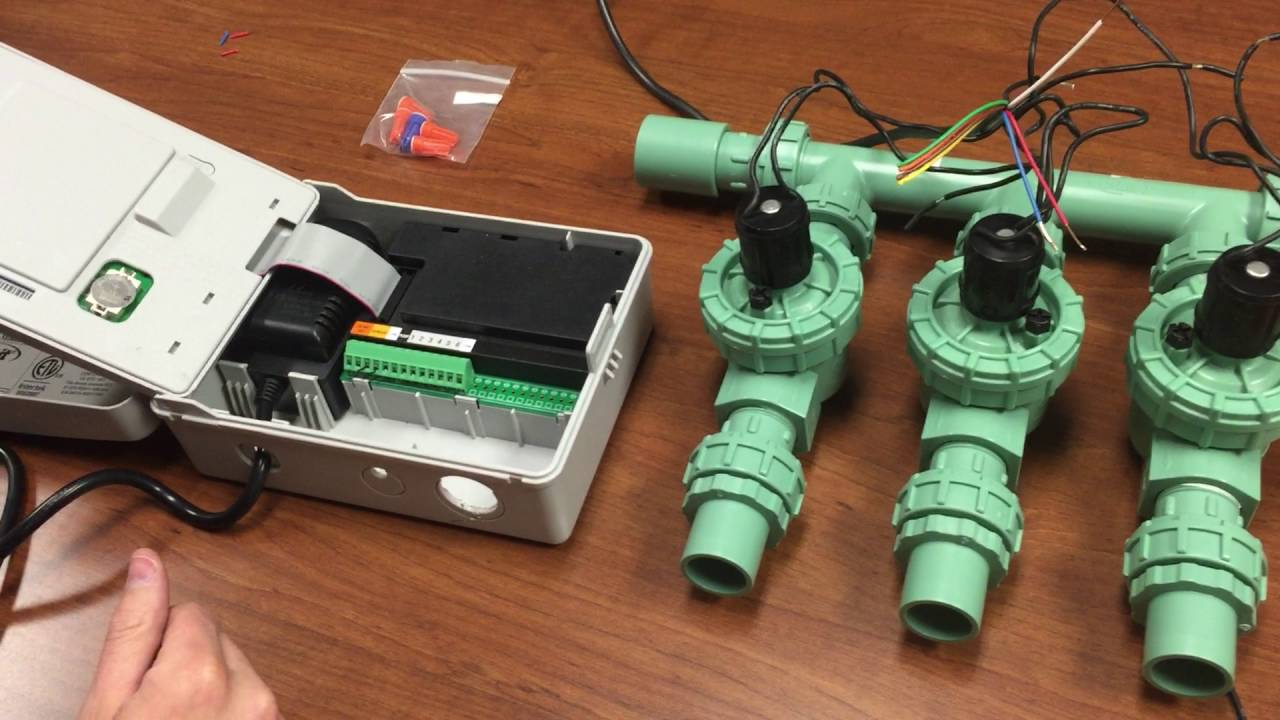 6 wire trailer plug wiring diagram john deere 316 kohler how to valves and timer youtube