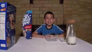 Pop Tarts Cereal Taste Test by Kelloggs