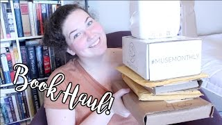 Massive June Book Haul, MuseMonthly, and Birthday Unboxing!