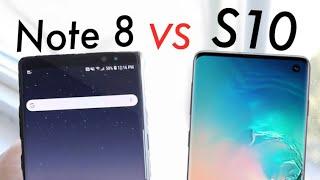 Samsung Galaxy S10 Vs Galaxy Note 8! (Quick Comparison) (Impressions)