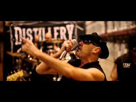 Distillery   Prisoner of rock'n'roll, le clip
