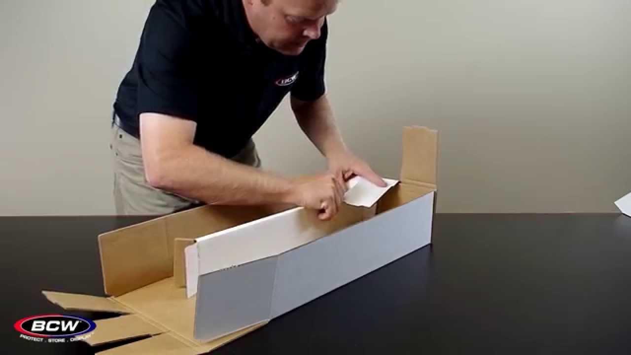 BCW Super Shoe Storage Box - YouTube