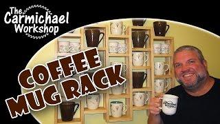 Make a Coffee Mug Rack - 100th Video & MicroJig Giveaway!