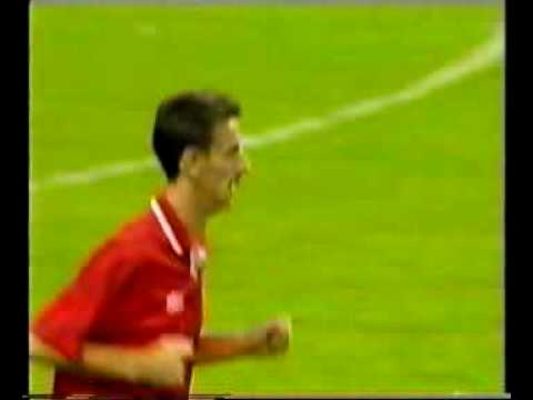 Wales - Faroes 6-0. 1994 World cup qualifiers. Part 2. Ian Rush record and saved penalty