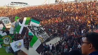 AKSI BRIGATA CURVA SUD DI LAGA PSS V MADURA FC - 2/5/2018