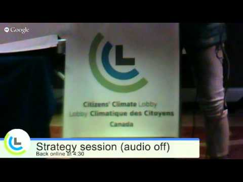 CCL 2015 Leading Change Meeting, Training and Sharing Event in Ottawa