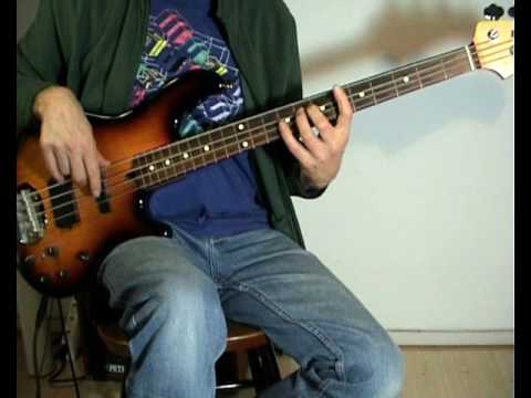 The Guess Who - Clap For The Wolfman - Bass Cover