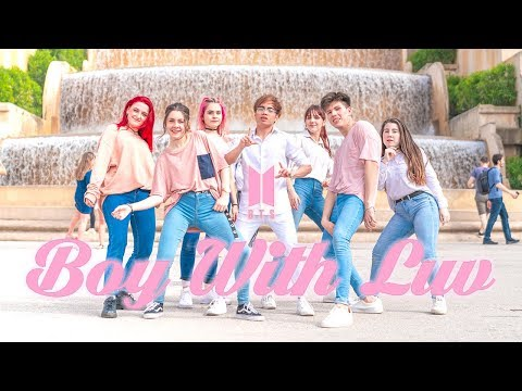 [KPOP IN PUBLIC] BTS (방탄소년단) '작은 것들을 위한 시 (Boy With Luv)   Dance Cover by AGMA (One Shot Ver.)