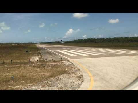 American Airlines Takeoff From Marsh Harbour International Airport