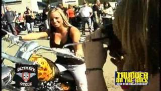 Thunder on the Rock Calendar Girl @ Ultimate Cycle