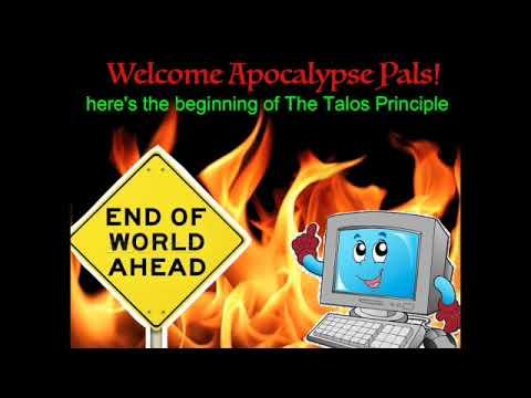 Apocalyptic Showcase: The Talos Principle (beginning walkthrough) |