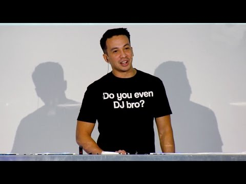 Laidback Luke - Seminar 'Real DJ-ing' @ Dancefair, The Netherlands (2015)