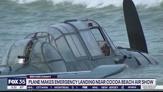 Plane made emergency landing near Cocoa Beach Air Show