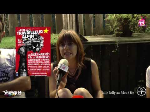 Les RDV Cultur'L Julie BALLY au Mas é Fée à Mercurol 02 09 2016