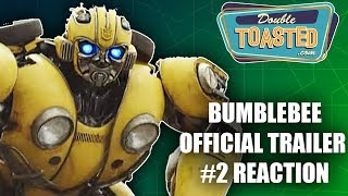 BUMBLEBEE 2018 MOVIE TRAILER #2 REACTION - Double Toasted Reviews