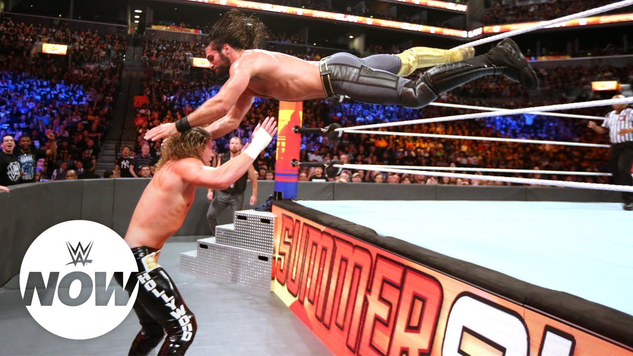 Seth Rollins Picks His Favorite WWE Summerslam Moment 1