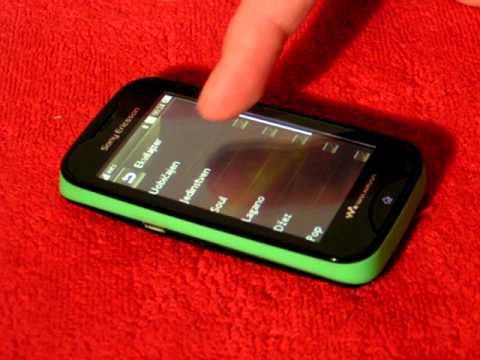 Sony Ericsson Mix Walkman - Video Review - MI2mobile.MOV