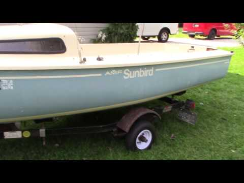 1981 AMF Alcort Sunbird Review.