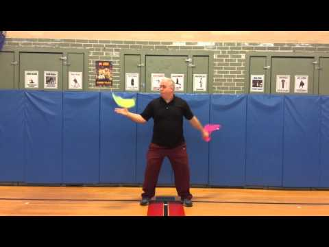 Phys.Ed.Review (The Super Seven - Juggling Scarves)